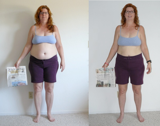 Debbie Lost 27 Pounds And 16 25 Inches From Her Body Using Tt For Fat Loss